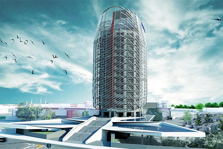 Nuovo palazzo sede degli uffici della Zucchetti a Lodi